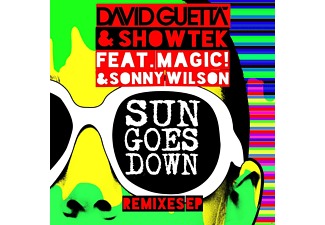 David Guetta & Showtek - Sun Goes Down (Remixes Ep) - (Vinyl)