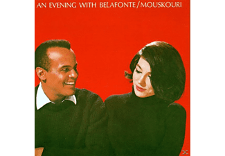Harry & Nana Mousko Belafonte - AN EVENING WITH BELAFONTE/MOUSKOURI - (CD)