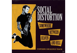 Social Distortion - SOMEWHERE BETWEEN HEAVEN AND HELL [CD]