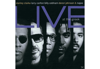 Stanley Clarke - STANLEY CLARKE & FRIENDS LIVE AT THE GREEK - (CD)