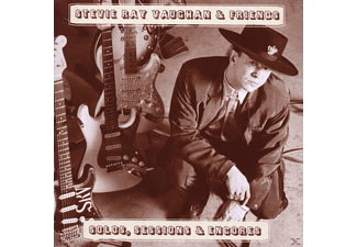 Stevie Ray Vaughan - Solos, Sessions And Encores [CD]