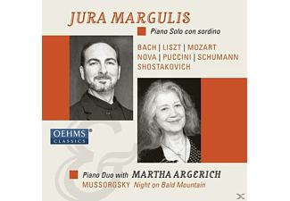 Jura Margulis, Martha Argerich - Piano Solo Con Sordino - Piano Duo With Martha Argerich - (CD)