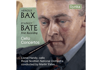 Lionel Handy, Royal Scottish National Orchestra - Bax & Bate: Cello Concertos [CD]