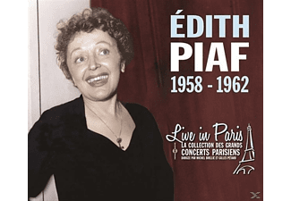 Edith Piaf - Live In Paris 1958-1962 - (CD)