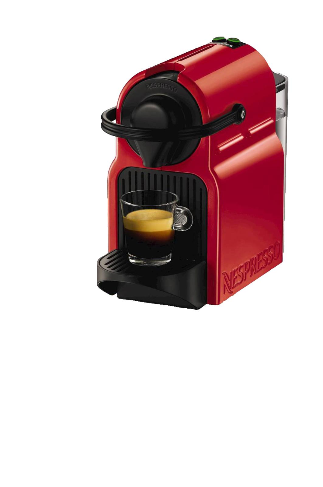 krups xn1005 nespresso inissia nespresso kapselmaschine ruby red ebay. Black Bedroom Furniture Sets. Home Design Ideas