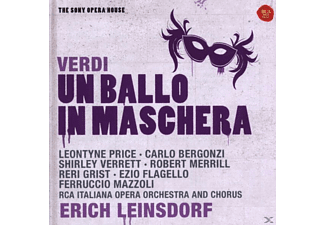 Erich Leinsdorf - Un Ballo In Maschera-Sony Opera House - (CD)