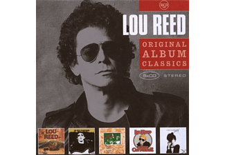 Lou Reed - ORIGINAL ALBUM CLASSICS - (CD)