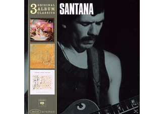 Carlos Santana - 3 Original Album Clasics - (CD)