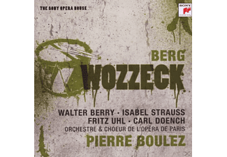 Pierre Boulez - Wozzeck-Sony Opera House - (CD)