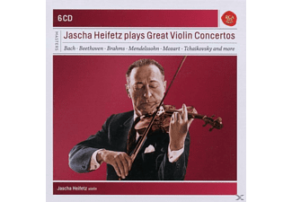 Jascha Heifetz - Jascha Heifetz Plays Great Violin Concertos - (CD)