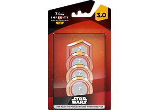 DISNEY INFINITY Power Discs Star Wars The Force Awakens 4-pack