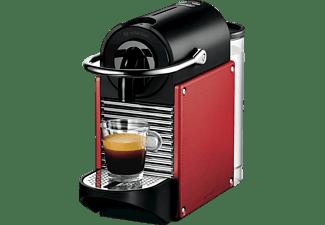 DELONGHI EN125R Nespresso Pixie, Nespresso, Kapselmaschine, Carmine Red