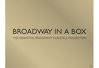 VARIOUS - Broadway In A Box-The Essential Broadway Musical [CD]