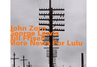 Zorn/Lewis/Frisell - More News For Lulu - (CD)