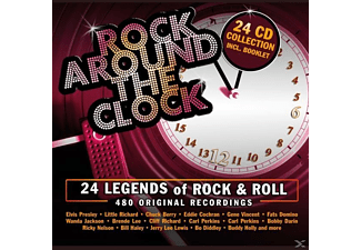 Div Rock, Presley/Berry/Lee/Richard/Perkins/Avalon/Otis/+ - Rock Around The Clock - (CD)