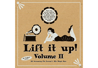 VARIOUS - Sj Andrej Presents: Lift It Up! Vol.2 [LP + Download]