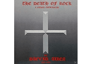 Daevid Allen - DEATH OF ROCK AND OTHER ENTRANCES - (CD)