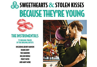 VARIOUS - Sweethearts & Stolen Kisses-Because They're Young - (CD)