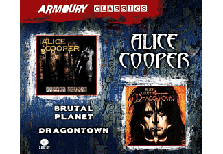 Alice Cooper - Brutal Planet / Dragontown [CD]
