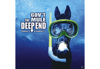 Govt Mule - Deep End Vol.1 + 2 [CD]