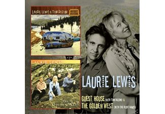 Laurie Lewis - GUEST HOUSE/THE GOLDEN WEST - (CD)