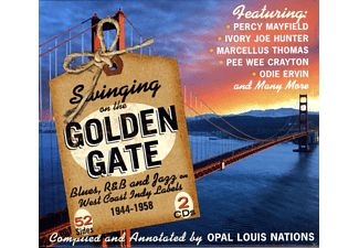 VARIOUS - Swinging On The Golden Gate.Blues - (CD)