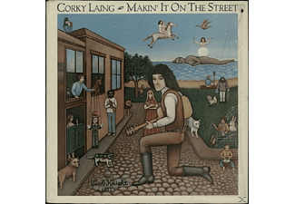 Corky Laing - MAKIN IT ON THE STREET (DIGITAL REMASTERED) - (CD)