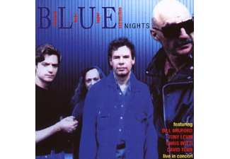 Bruford Levin Upper Extremitie - BLUE NIGHTS - (CD)