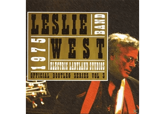 The Leslie West Band - ELECTRIC LADYLAND STUDIOS 1975 - (CD)