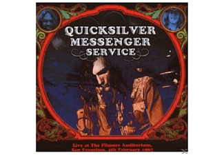 Quicksilver Messenger Service - LIVE AT THE FILMORE AUDITORIUM 4TH FEBRUARY 1967 - (CD)