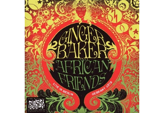 Ginger & African Friends Baker - LIVE IN BERLIN 1978 - (CD)