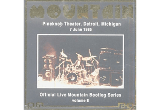 Mountain - LIVE AT THE PINEKNOB THEATRE DETROIT 1985 - (CD)