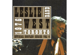 The Leslie West Band - LIVE IN TORONTO 1976 - (CD)