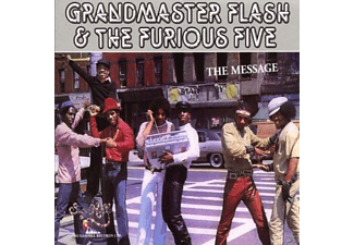 Grandmaster Flash & Furi.5, Grandmaster Flash & The Furious Five - The Message [CD]