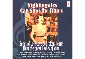 VARIOUS - Nightingales Can Sing The Blues - (CD)