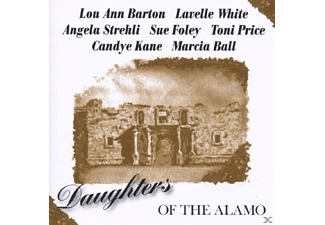 VARIOUS - DAUGHTERS OF THE ALAMO - (CD)