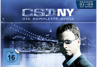 CSI: NY - Komplettbox: Staffel 1-9 [DVD]