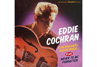 Eddie Cochran - Cherished Memories+Never To Be Forgotten+8 - (CD)