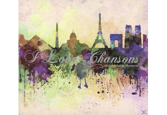 VARIOUS - I Love Chansons - (CD)