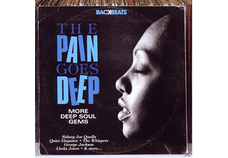 VARIOUS - Backbeats - The Pain Goes Deep - (CD)