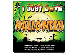 VARIOUS - I Just Love Halloween - (CD)