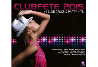 VARIOUS - Clubfete 2015-44 Club Dance & Party Hits [CD]