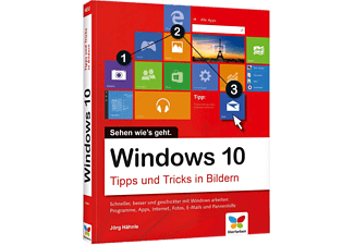 windows 10 tipps und tricks in bildern pc fachb cher kaufen bei saturn. Black Bedroom Furniture Sets. Home Design Ideas