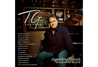 T.G. Sheppard - Legendary Friends & Co. [CD]