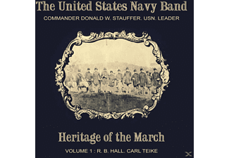 The Us Navy Band - Heritage of the March Vol.1 - (CD)
