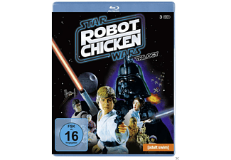 Robot Chicken Star Wars - Episode I and II and III - (Blu-ray)