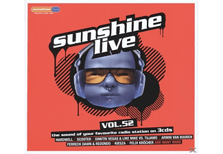 VARIOUS - Sunshine Live 52 - (CD)