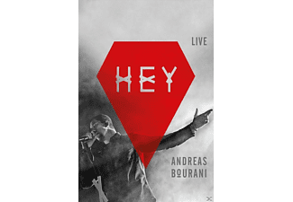 Andreas Bourani - Hey (Live) - (CD + Blu-ray + DVD)
