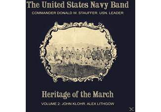 The Us Navy Band - Heritage of the March Vol.2 - (CD)