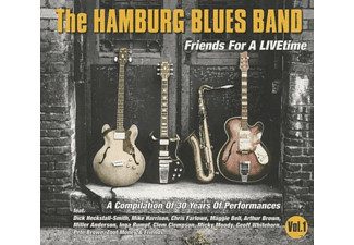 Hamburg Blues Band - Friends For A LIVEtime - (CD)